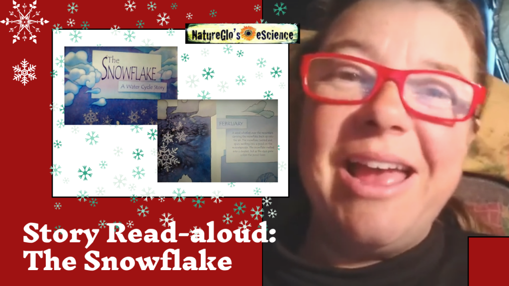 Snowflake Story Read-aloud with NatureGlo