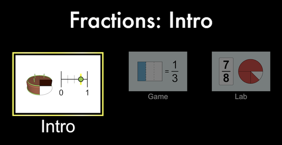 fractions interactive simulator