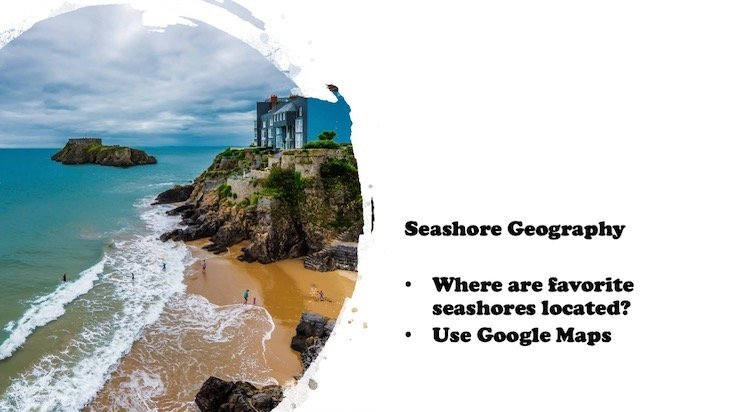 Ocean unit study geography example